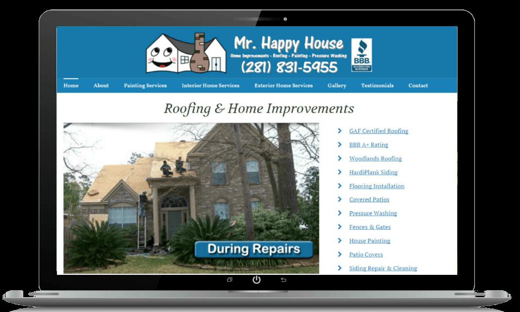 Home Improvement Website Contractor Websites Proengage Local