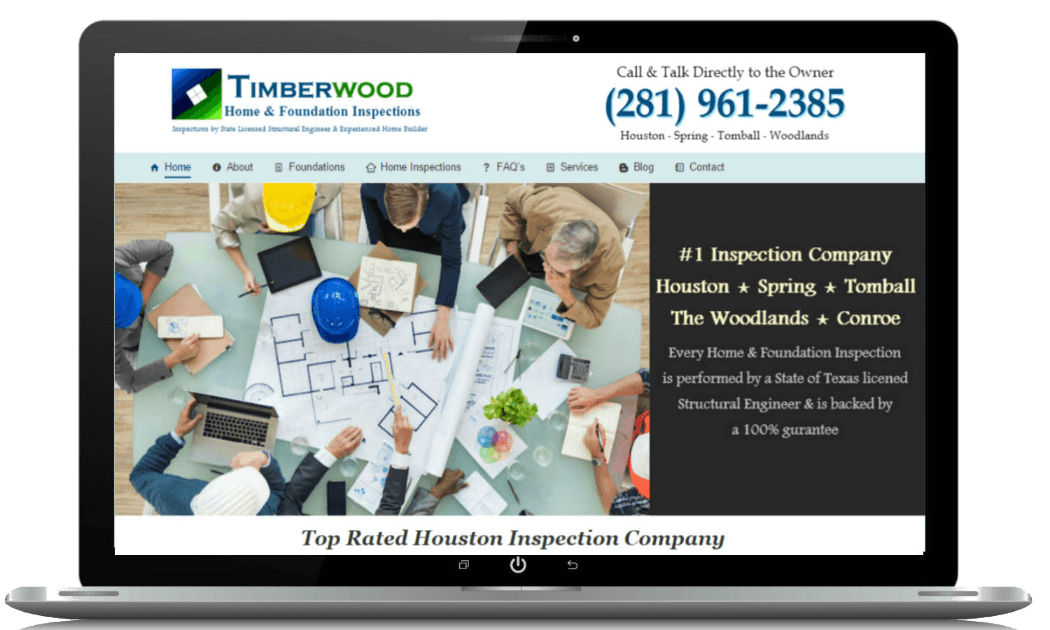 Home Inspections Website Designs | SEO Websites - ProEngage Local