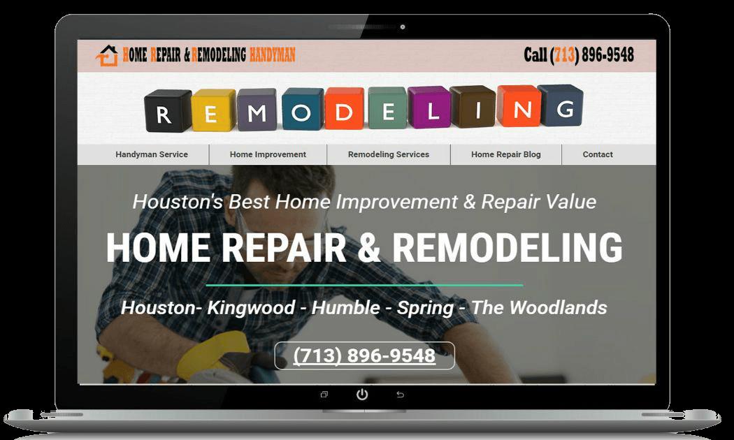 Home improvement website designs seo websites Best home improvement website design