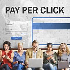Pay per click pricing visual
