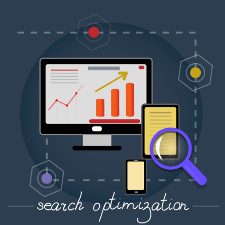 SEO optimization pasts start to finish graphic