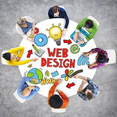 Web design prices visual